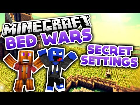 Secret SettingsChallenge Minecraft Bed Wars DeutschGerman - Minecraft realms server erstellen
