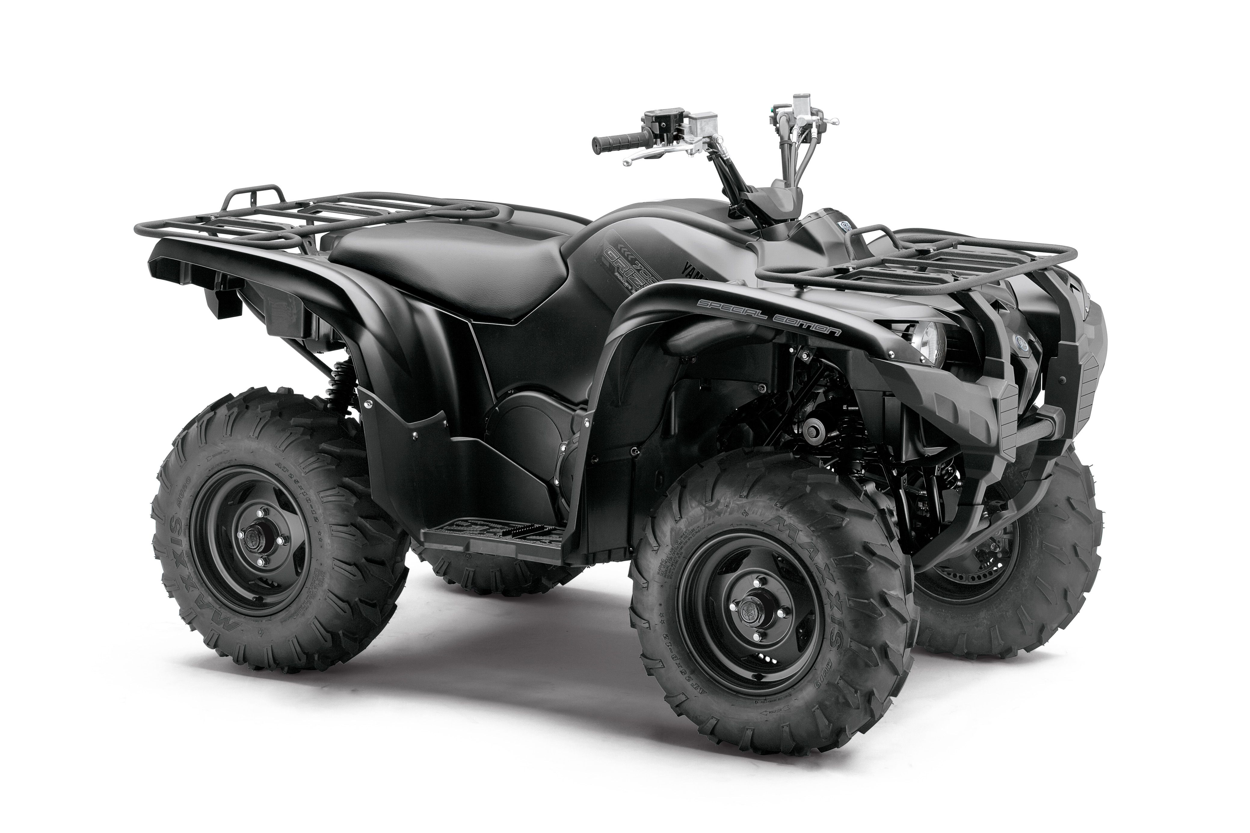 Yamaha introduces new tactical black special edition grizzly 700 and rhino 700 vehicles all of yamaha s atv and side by side vehicles are assembled in usa