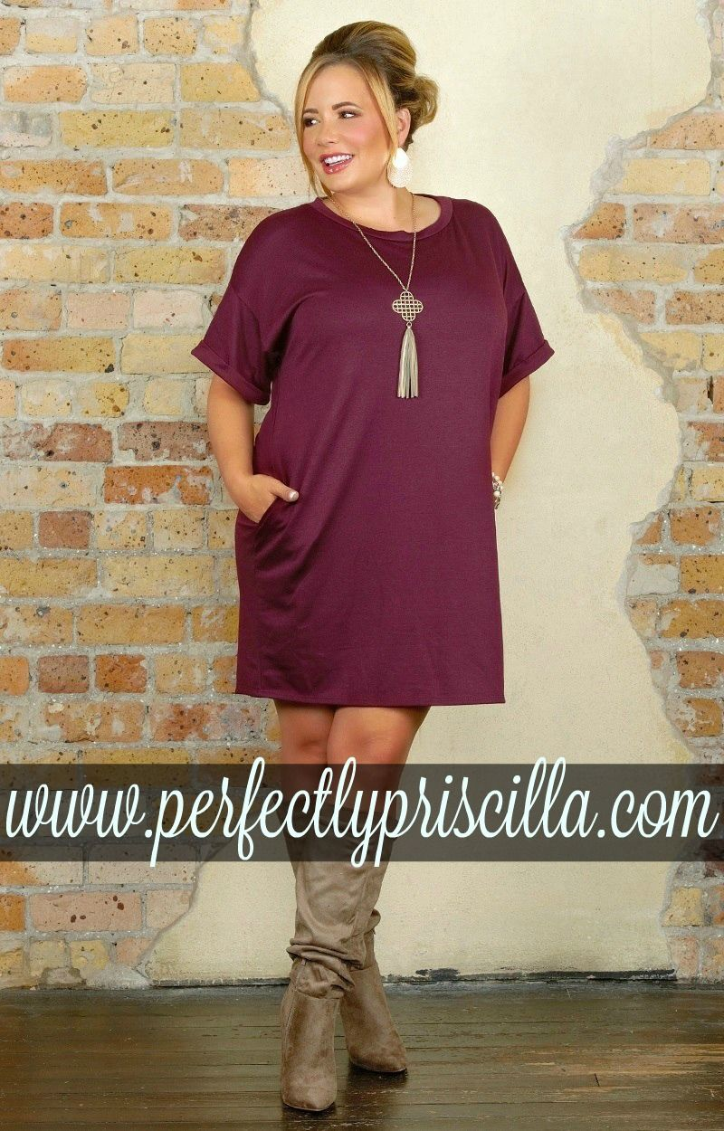 dress #trendy #curvy #fashion #fall #boutique #plussize ...