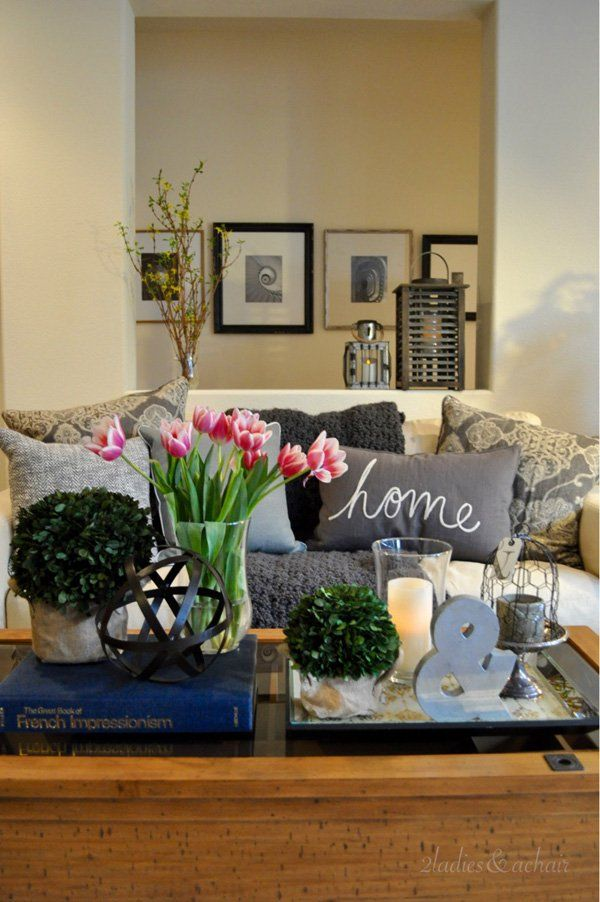 35 Vases And Flowers Living Room Ideas, Center Table Decoration For Living Room