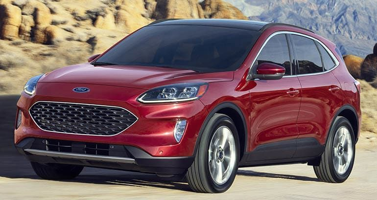 Redesigned 2020 Ford Escape Adds Tech Loses Weight Ford Escape Plug In Hybrid Suv Suv