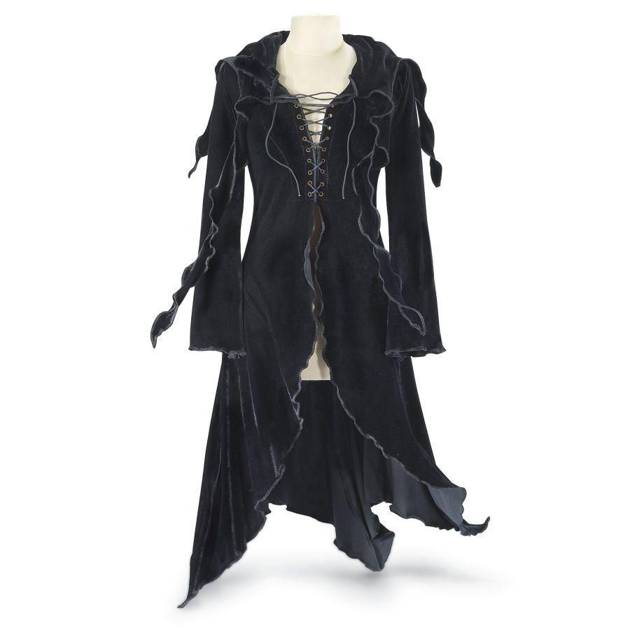 Enchantress hooded maxi jacket womenus romantic u fantasy inspired