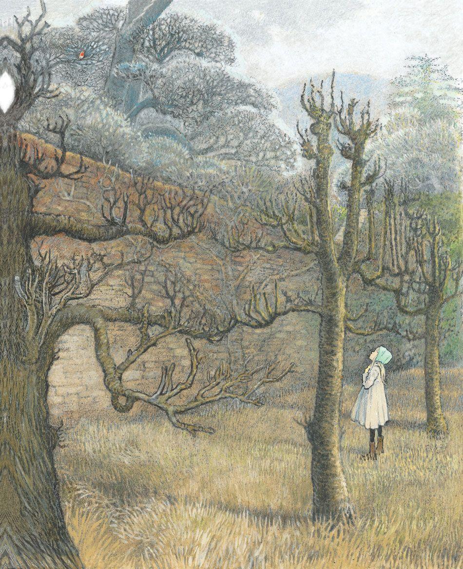 The secret garden illustrated by inga moore frances for Cancion secretos en el jardin