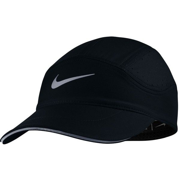 5461317d0ab Nike AeroBill Elite Running Hat ( 30) ❤ liked on Polyvore featuring  accessories