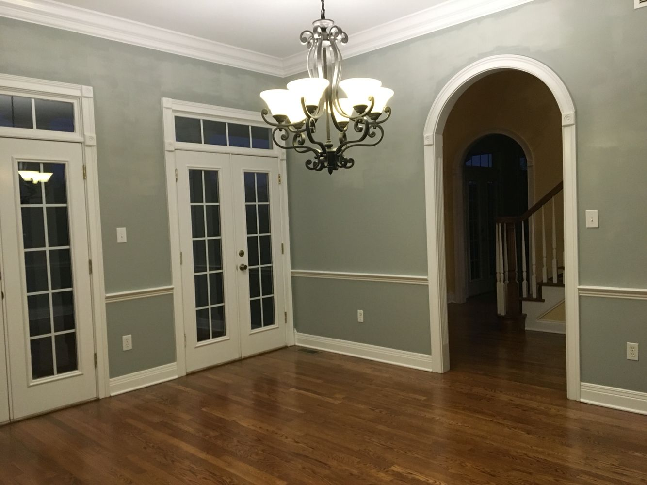My Dining Room Paint Magnetic Gray Sherwin Williams Beautiful