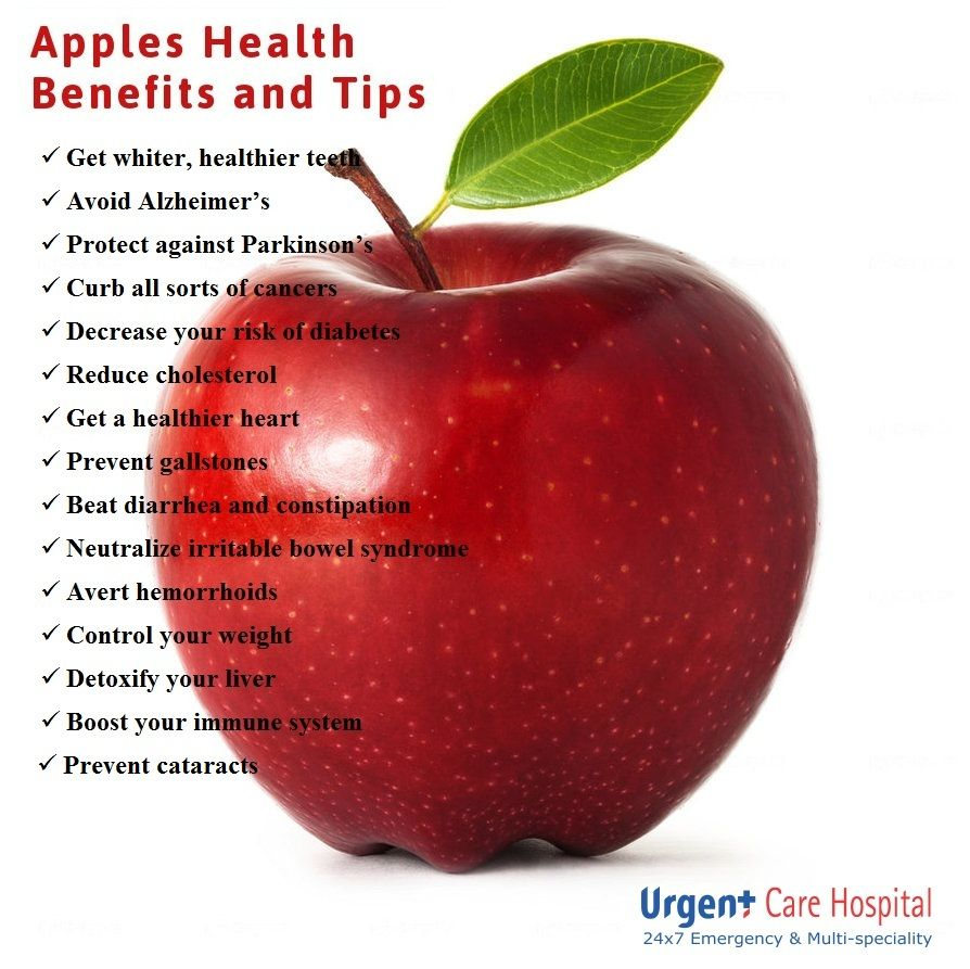 Urgent Care Tip of the Day Health Benefits of Apples