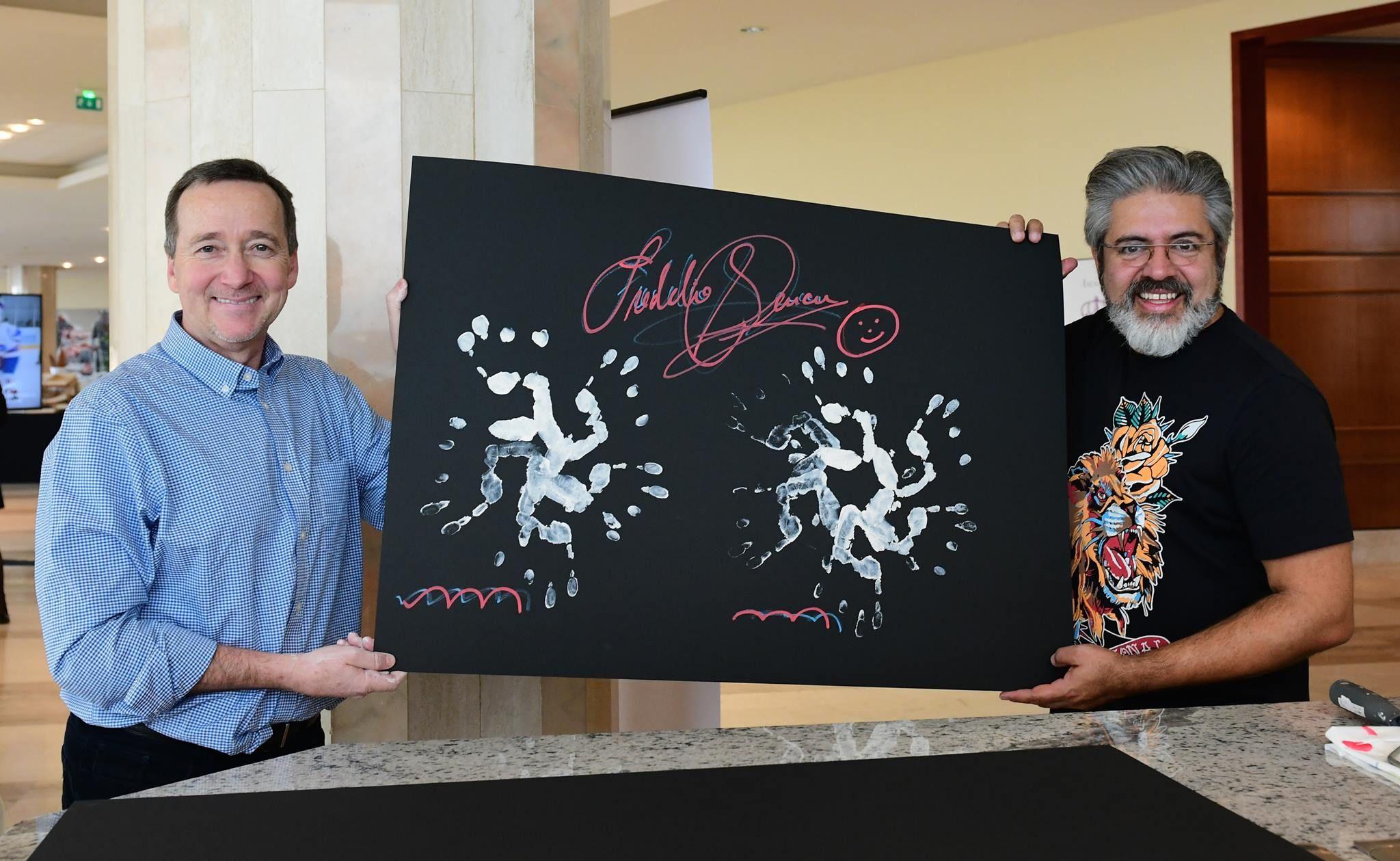 Freddie Spencer durante il 3° WSLA Handprints Show, Gli