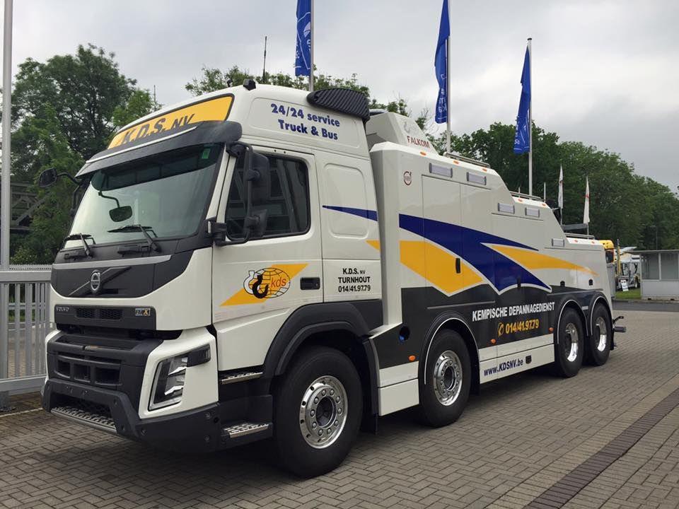 Volvo Fmx 8x4 Tow  24 Service Truck  U0026 Bus   Kempische Depannagedenst