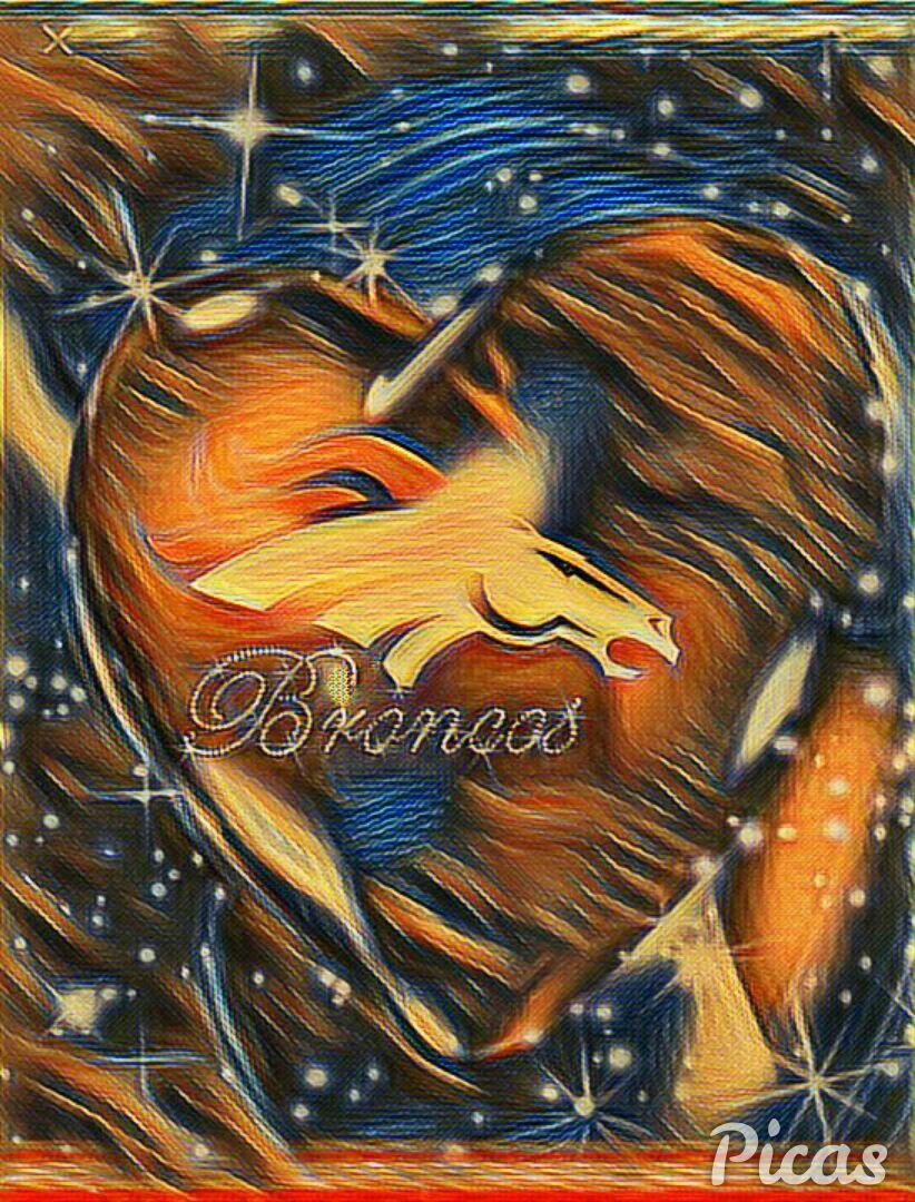 Heart.... Denver broncos logo, Denver broncos, Denver