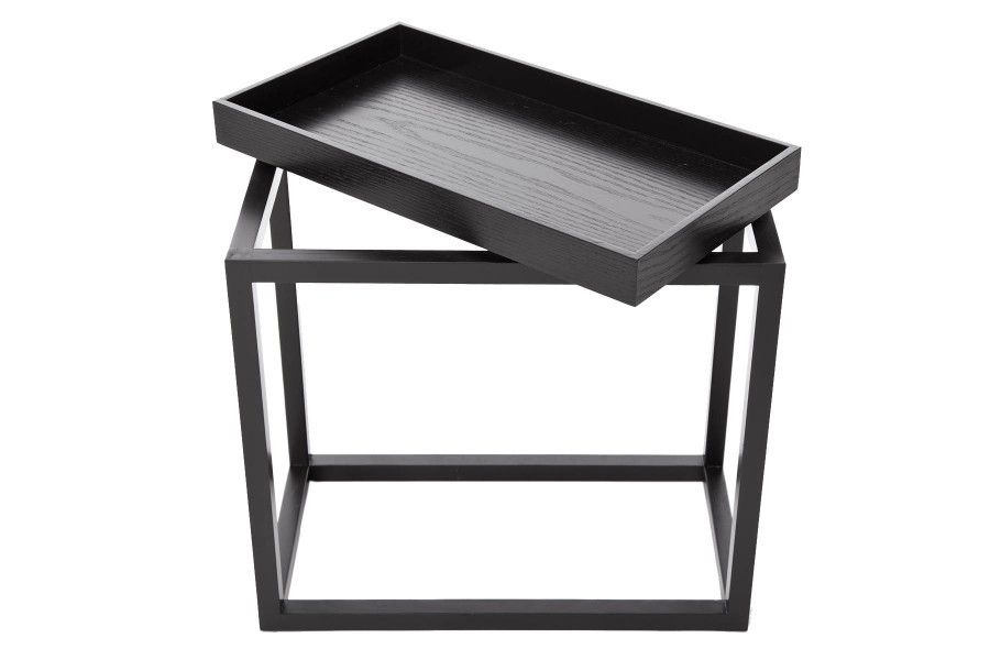 Theo Side Table Black by NORR11