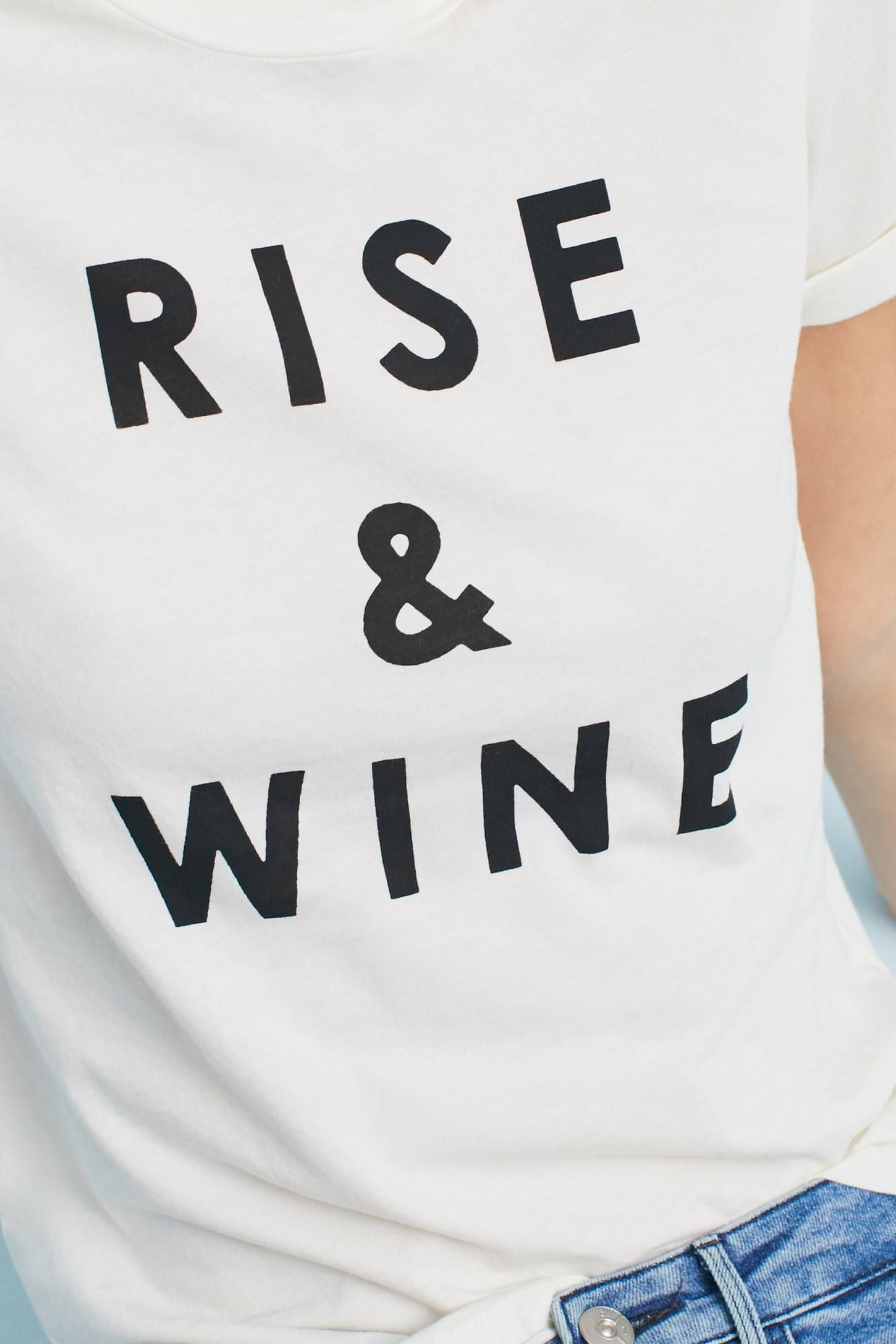 37e637ebc Shop the Sol Angeles Rise & Wine Graphic Tee and more Anthropologie at  Anthropologie today. Read customer reviews, discover product details and  more.