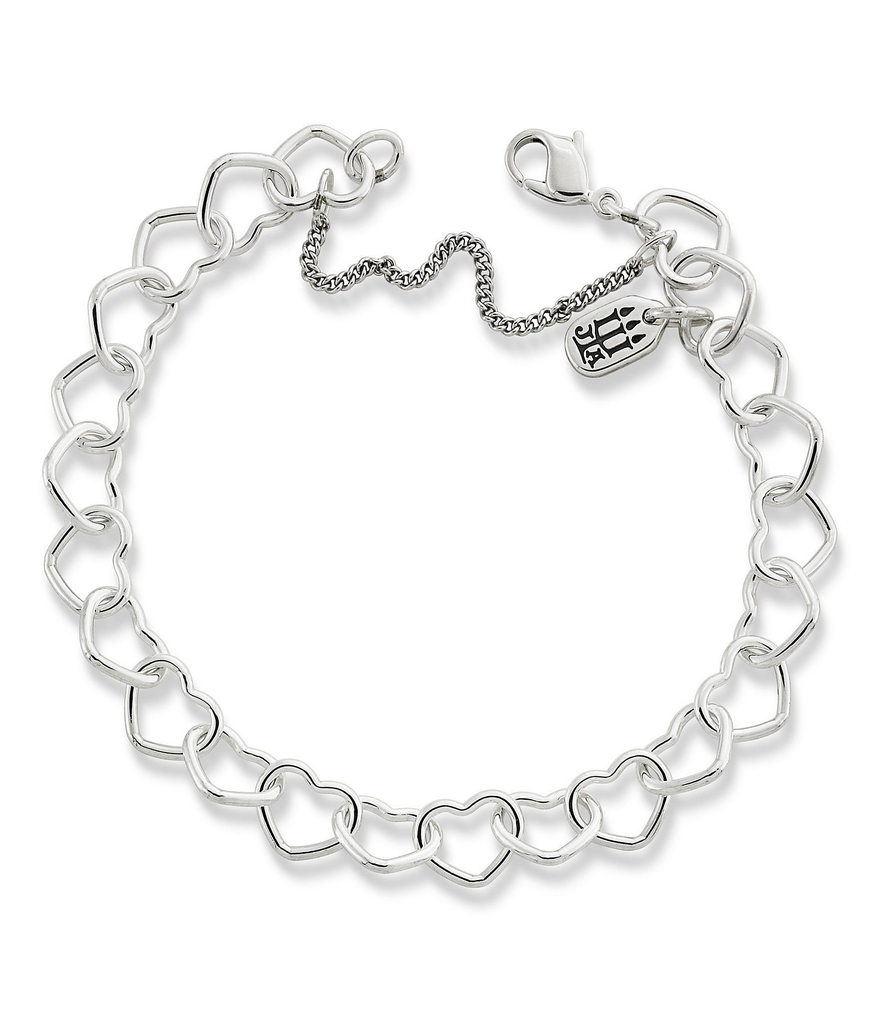 Shop for James Avery Sterling Silver Connected Hearts charm ...