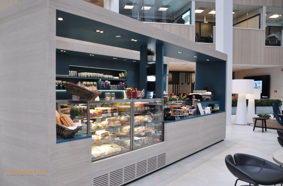 Officeproject aker solutions norway design by as for Food bar stavanger