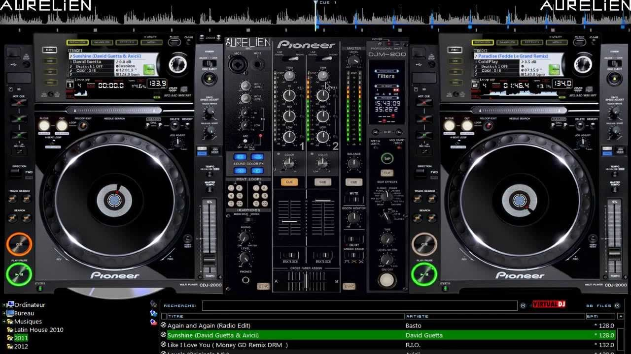 Mix 2012 Sur Virtual DJ N14 HD