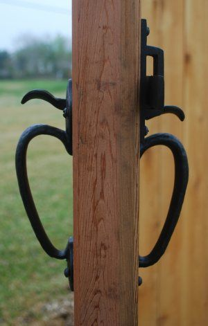 Double Gate Latches 360 Yardware Gate Hardware Outdoor Gate Contemporary Gates