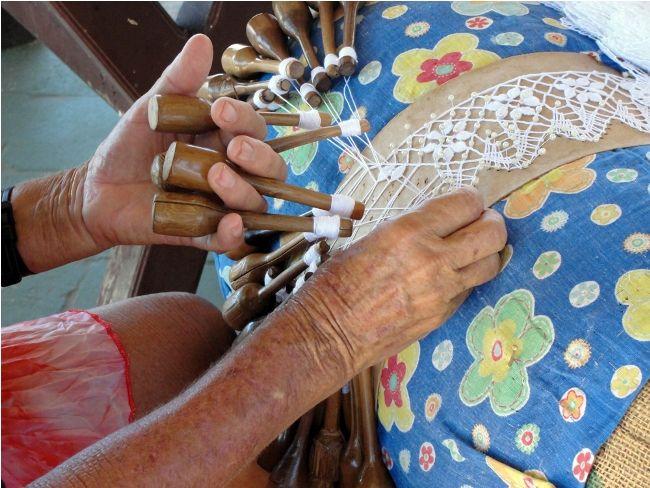 Armario Oficina Segunda Mano ~ Découpage by Ju O artesanato brasileiro a renda de bilro The Brazilian handicraft the