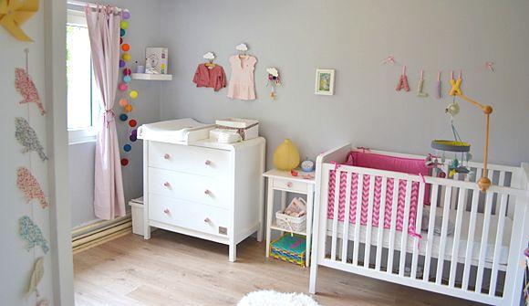 La chambre bébé d\'Alix | Chambres bébé, Le chambre et Chambres