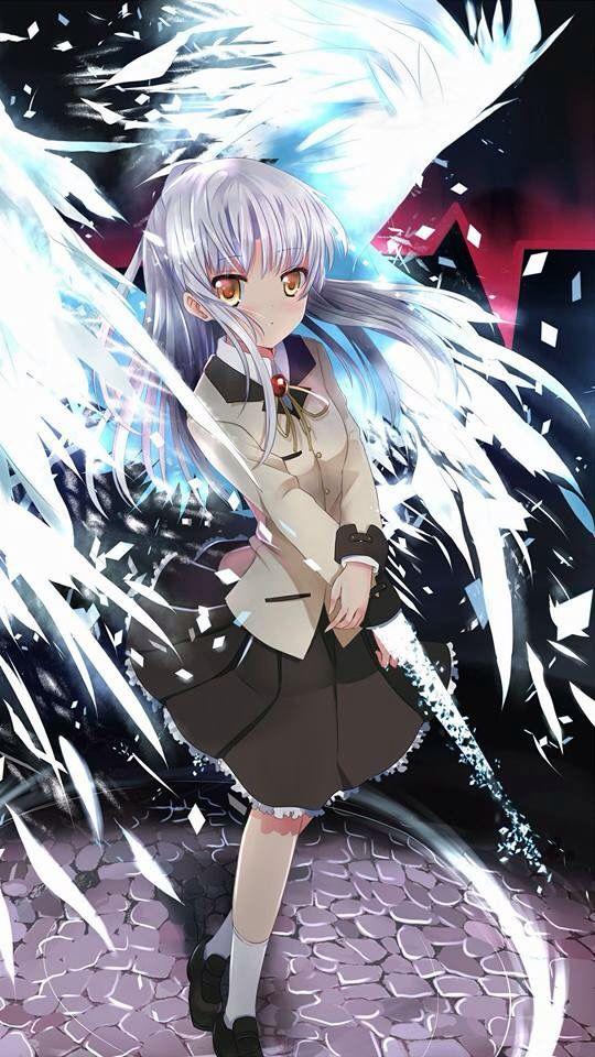 Kanade Angel Beats. Angel beats, Anime, Anime angel