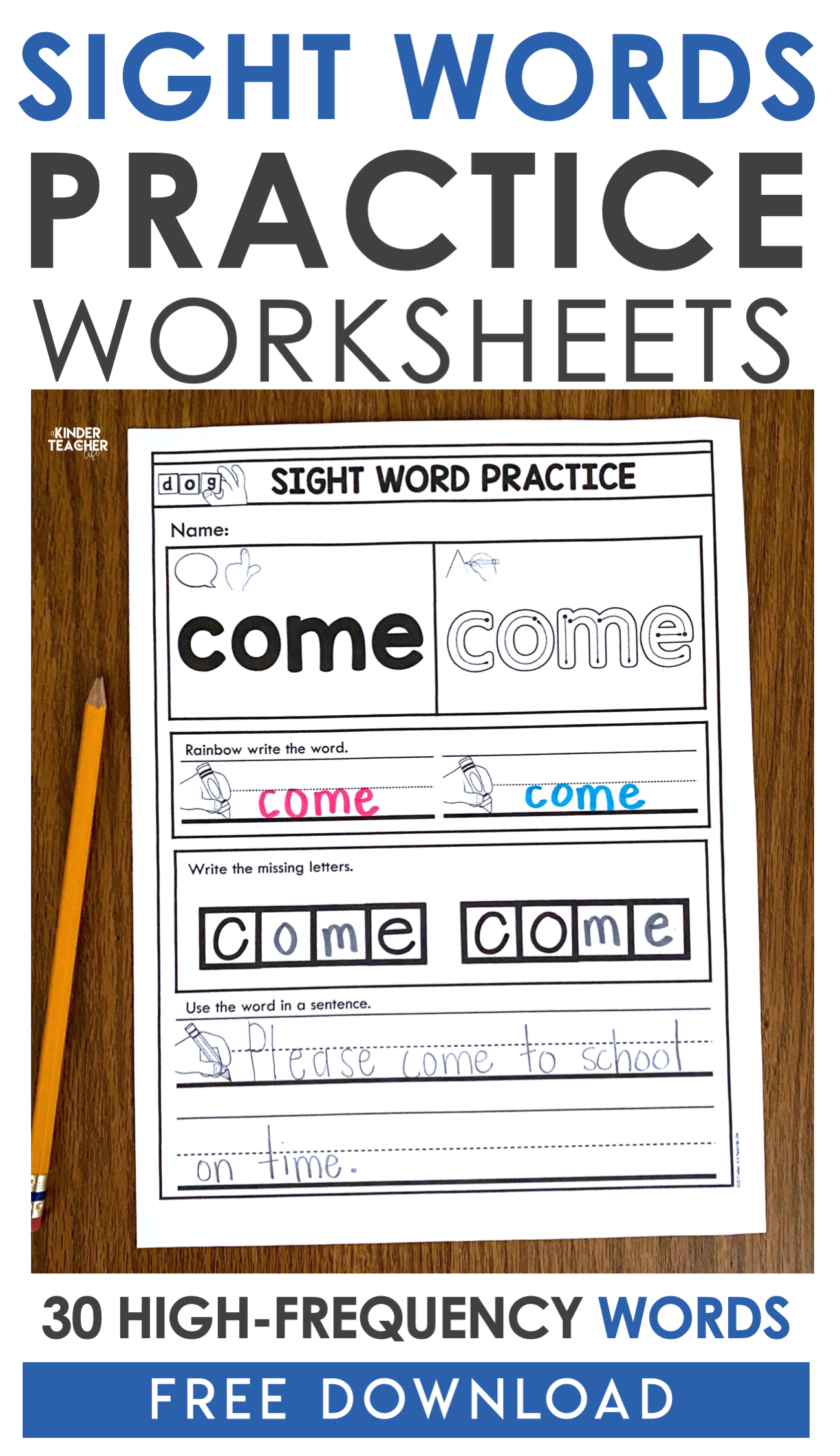 How To Introduce Sight Words In