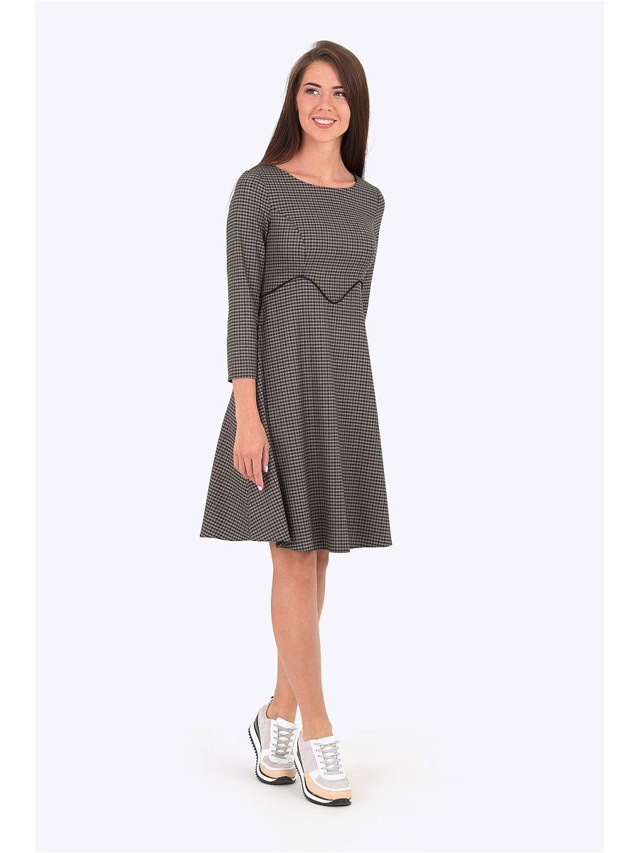 8f7cd495c73 Платье EMKA FASHION. Цвет коричневый