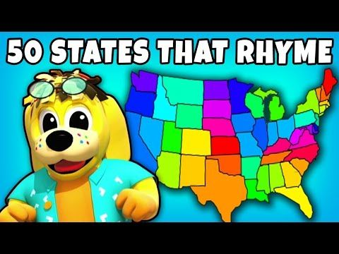50 States That Rhyme Kids Songs Plus Lots More Fun Nursery Rhymes Collection For Kids By Raggstv You