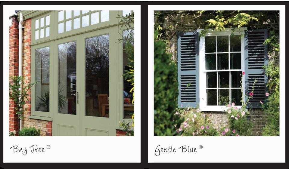 Wood Amp Metal Paint Gentle Blue Sandtex Green Exterior