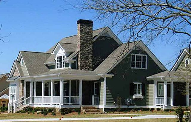 Luxury house plans southern living house plans for Southern luxury house plans