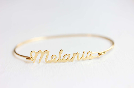 Awesome Vintage Name Bracelet From The 50s Or 60s All