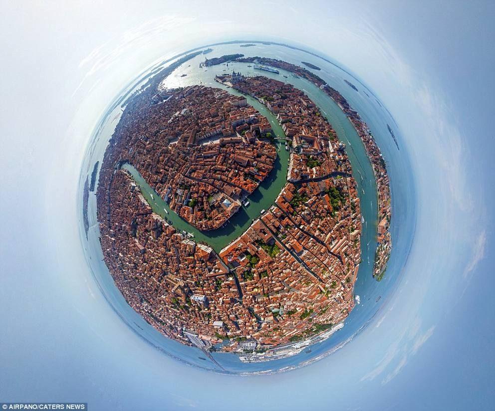 Le metropoli come non le avete mai viste 360° di pura bellezza