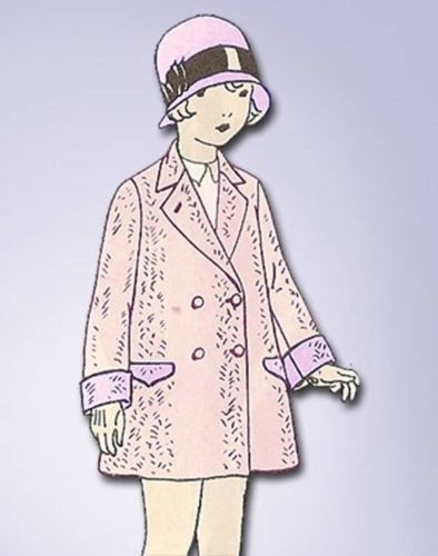 1920s ORIGINAL Adorable Unused Toddlers Flapper Coat ...