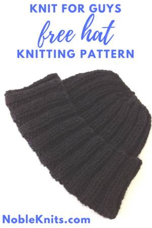 Knit for Guys Free Hat Knitting Pattern