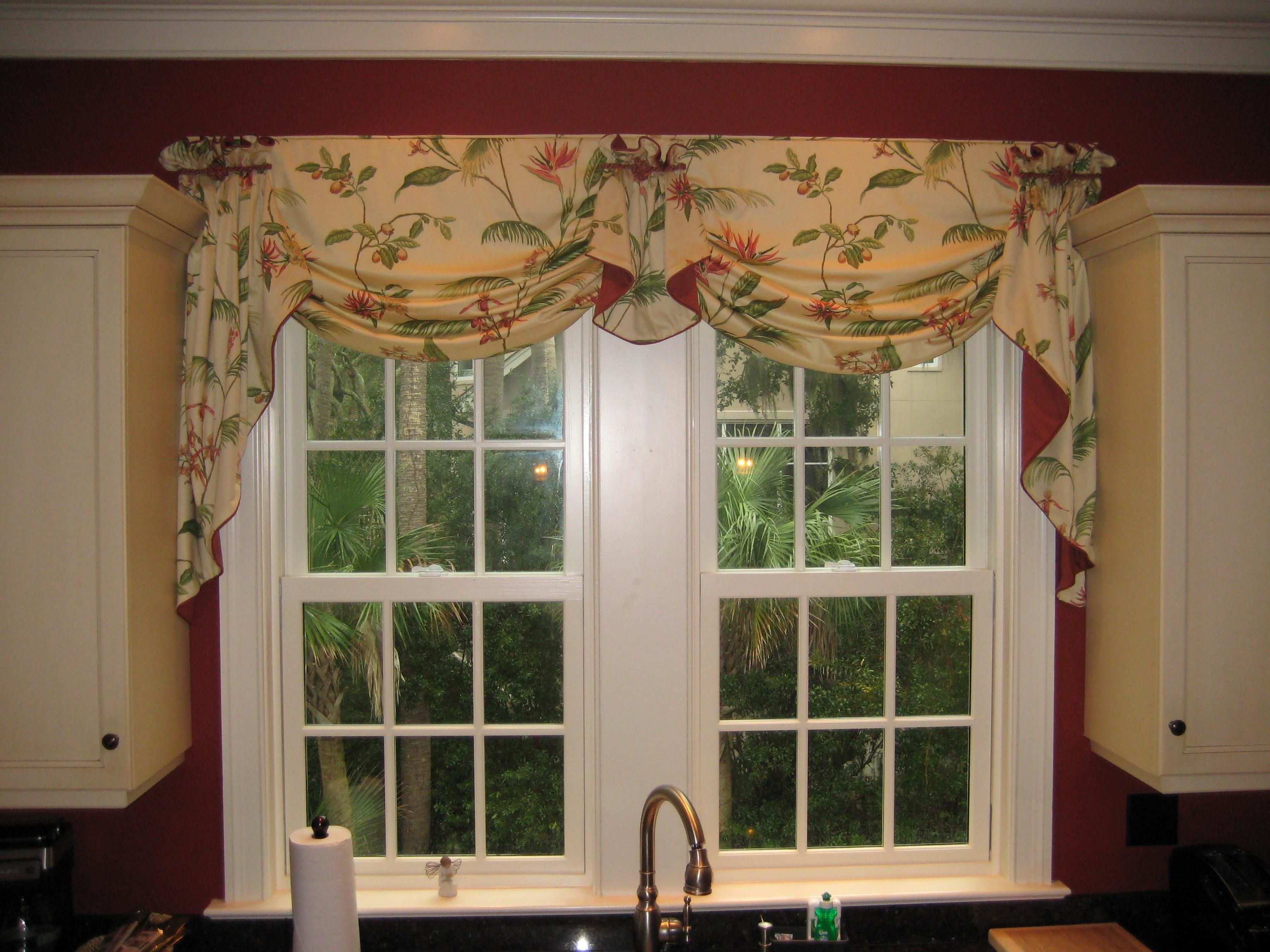 Kitchen window curtains and valances latulufofeed