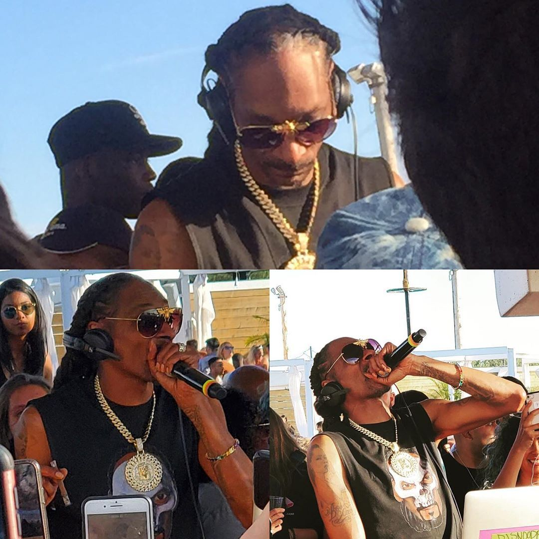 Snoop Dogg at the cabana pool bar. It was a great evening. #lessonsoflife #pride #betterbodies #bett...