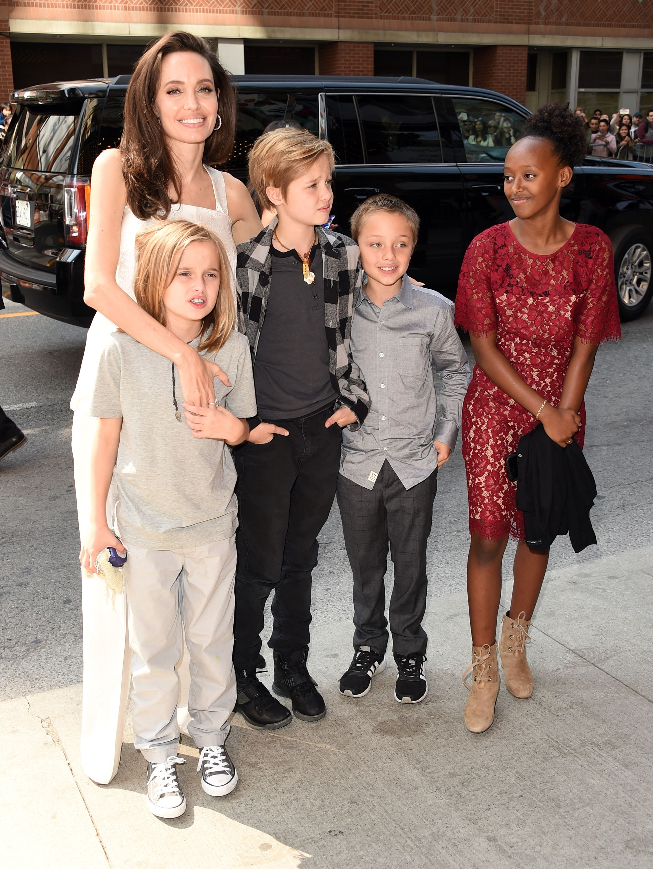 Here is how grown-up children Jolie and Pitt look: the genes of the most beautiful couple in Hollywood are in