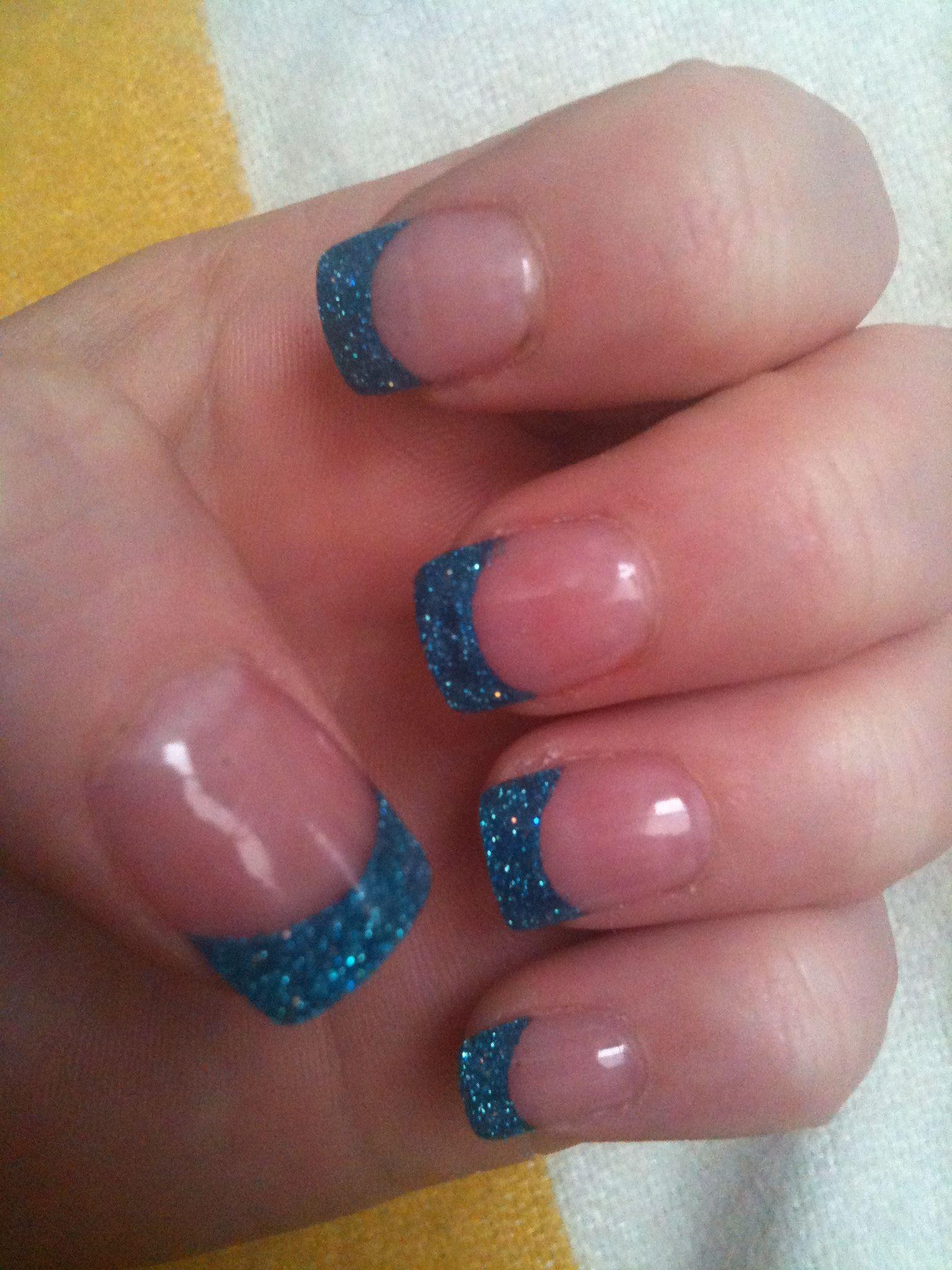 My glitter solar nails . Solar nail spa tyler, Tx | Nails ...