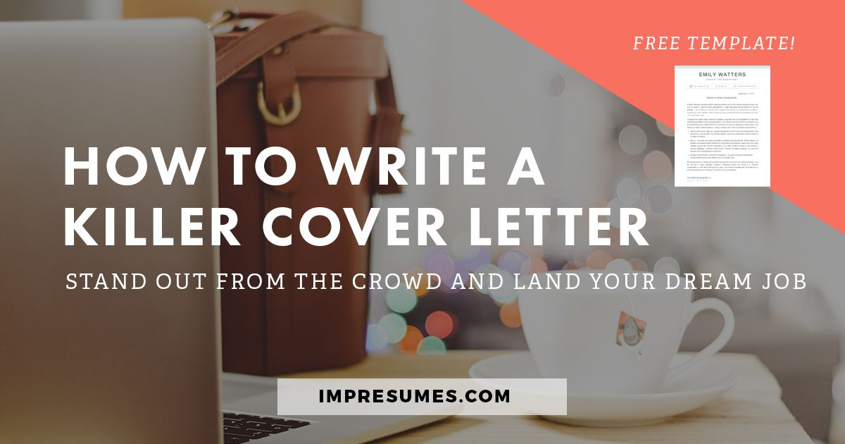 How to quickly write a killer cover letter.   Writing process