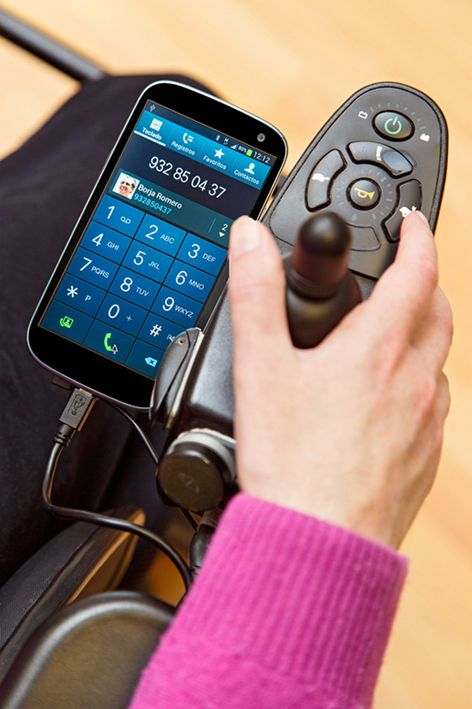Nuevo BJOY Ring Wireless de Bj Adaptaciones, acceso de las personas con discapacidad a dispositivos móviles y ordenadores - Artículos de Ortopedia