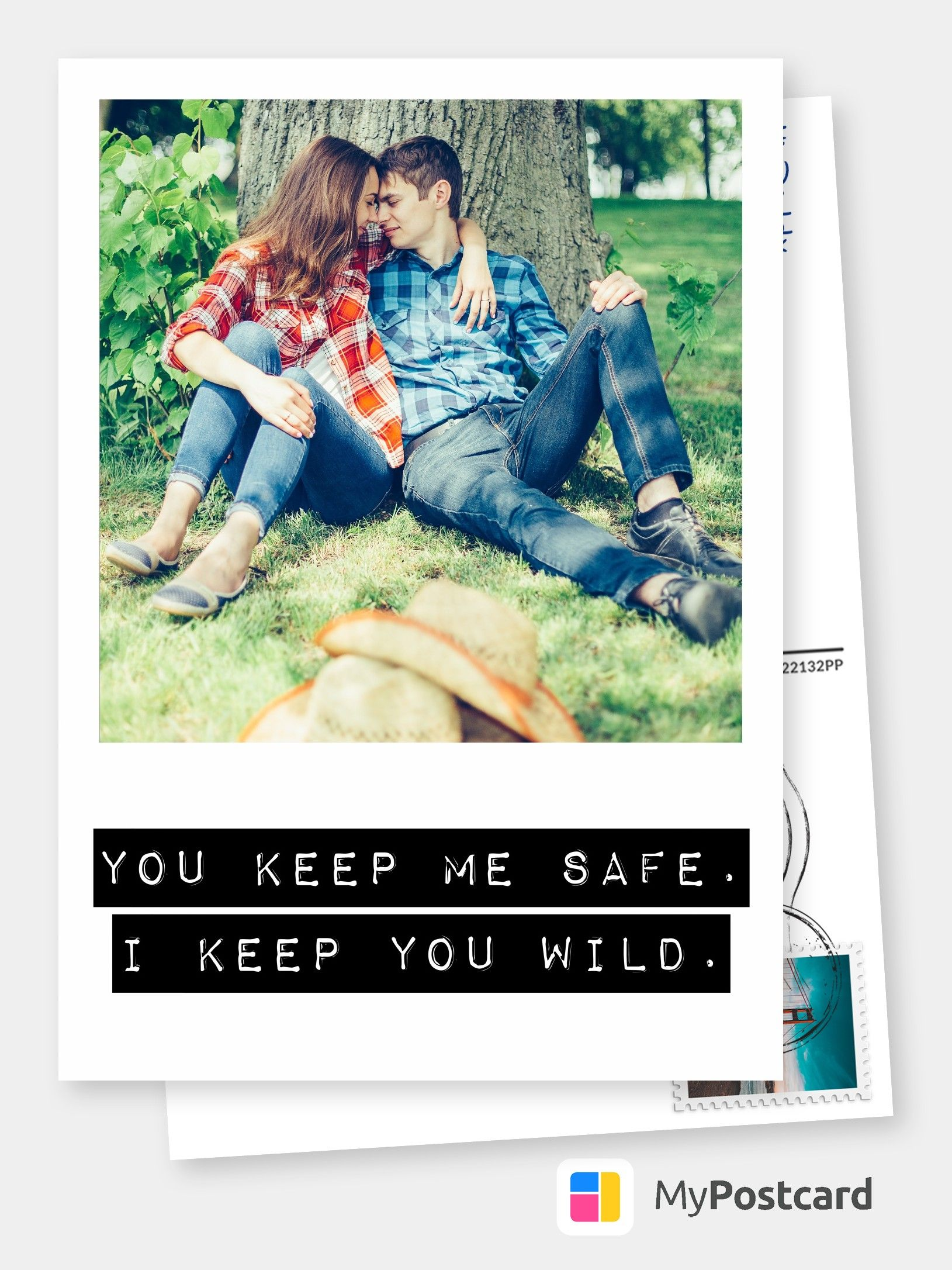 Create Your Own I Love You Photo Cards Online Printed Mailed For You International Free Shipping Print Your I Love You Photo Cards Customized Photo Ca