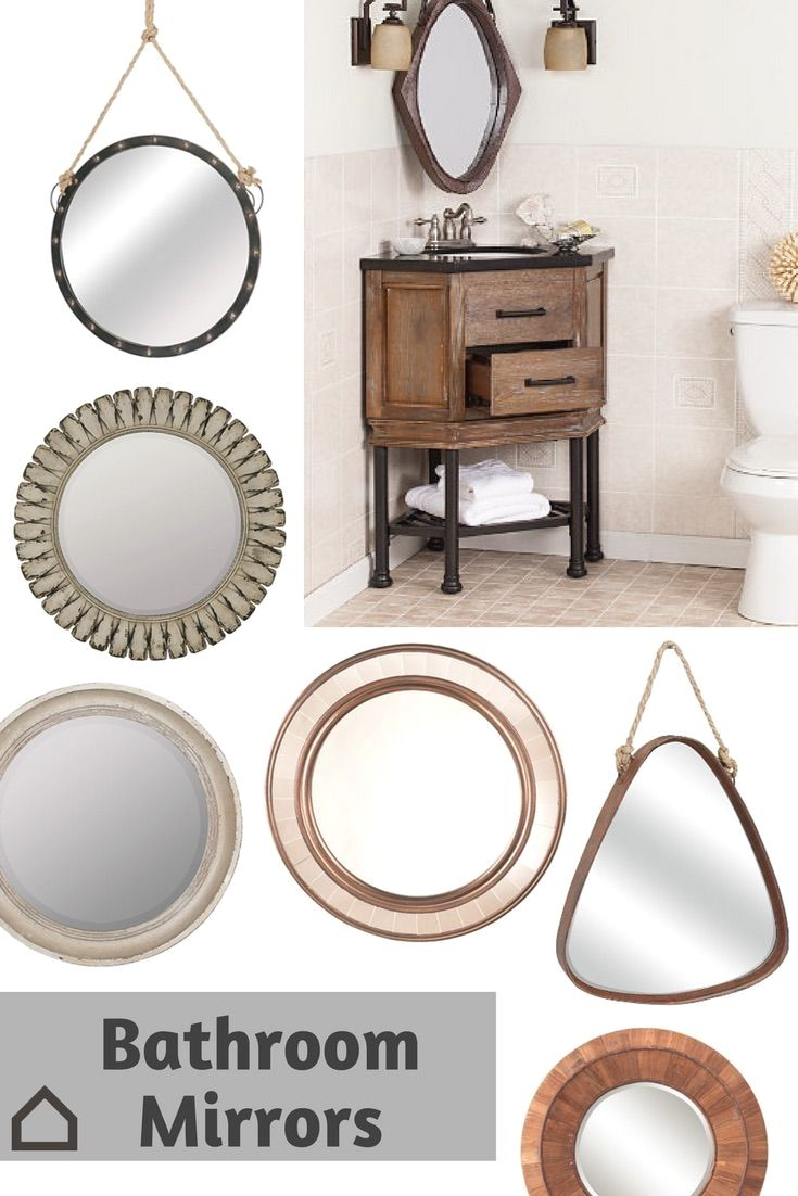 Upgrade your bathroom with a unique mirror replacing the basic