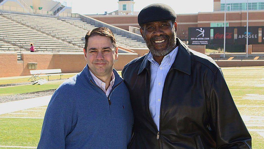 Steelers Legend Mean Joe Greene And Coke Kid Reunited Nearly 40 Years After Iconic Super Bowl Commercial Joe Greene Super Bowl Nfl