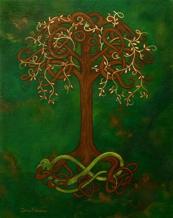 The World Tree by Diana Plaisance