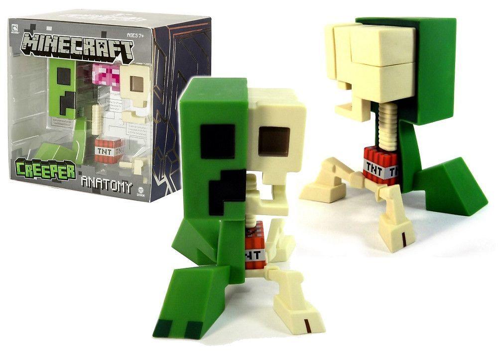 Minecraft Creeper Anatomy Deluxe Vinyl Figure Products Pinterest