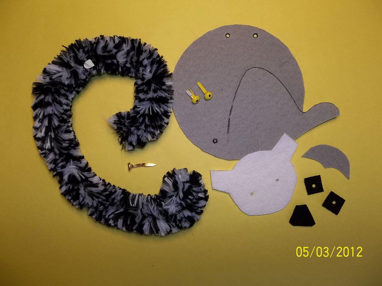 L Is For Lemur Craft Kit