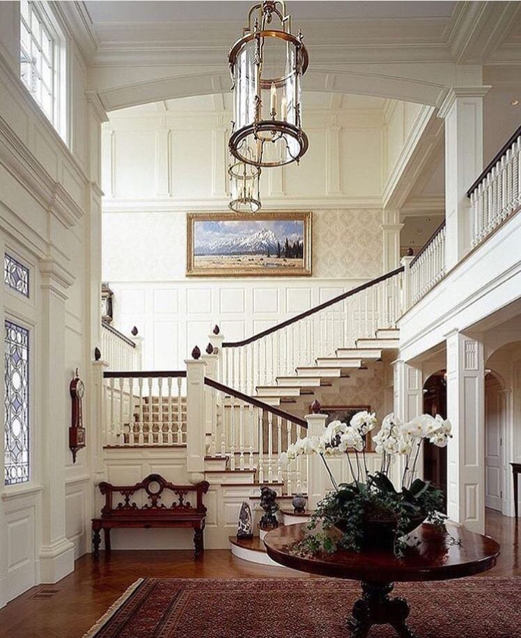 Beautiful Interior Staircase Ideas And Newel Post Designs: Pin By Aleah On Home, Sweet Home
