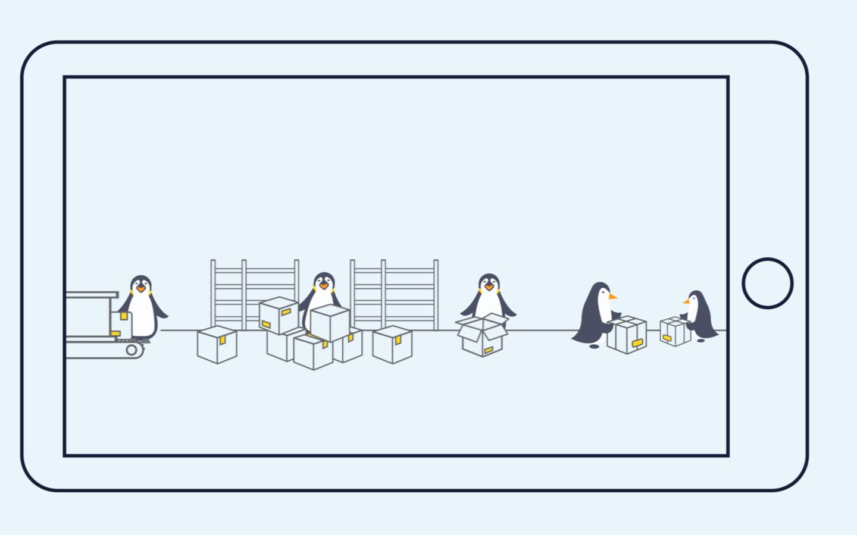 Vídeo de animación Storisell.es Prime Penguin 4