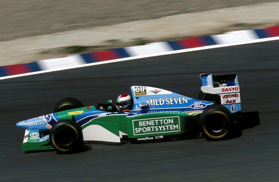 Jos Verstappen Benetton