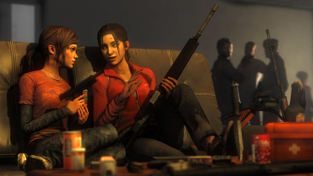 Sister From Another Mister By Lonefirewarrior On Deviantart Left 4 Dead The Last Of Us Resident Evil