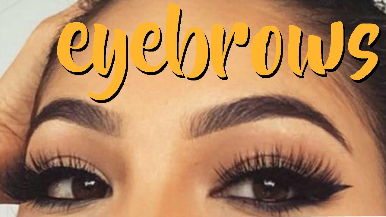 How To Groom, Shape & Fill In your Eyebrows At Home ...