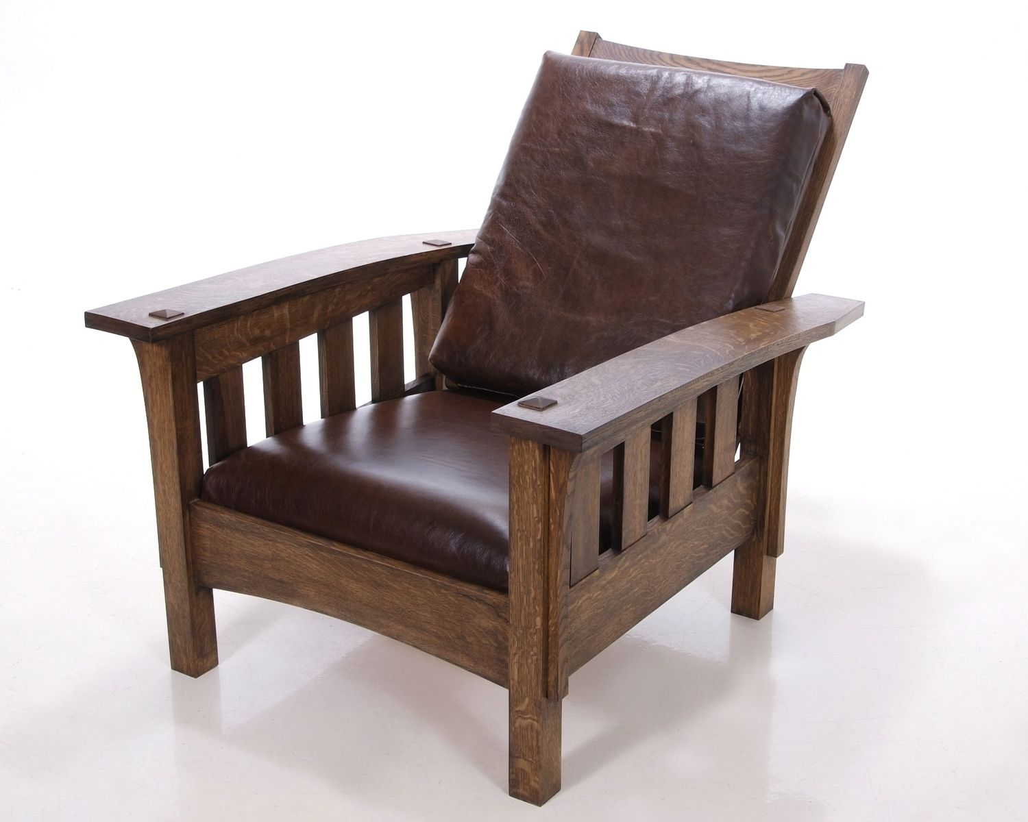 Morris chair plans - This Chair Has Nice Wide Arms Which Would Be Great For Reading Do I Want