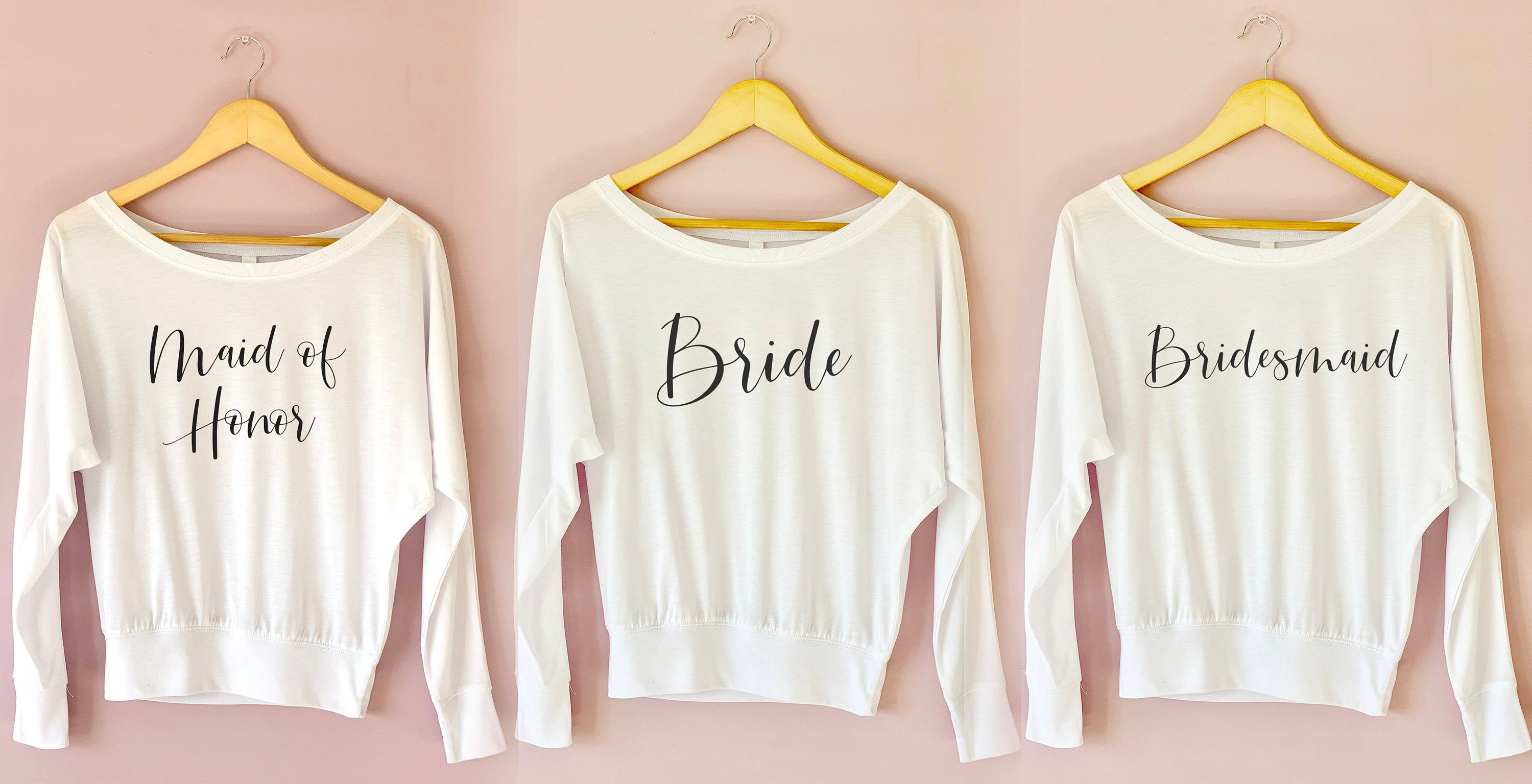 13eb04df81 Bridal Party Getting Ready Shirts. Group order. The more you order ...